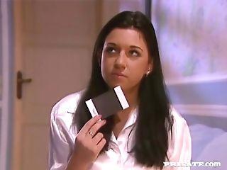 Huge-boobed And Beautiful Amanda Has Her Cooch Eaten
