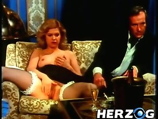 Cool Porno From 70s With Dirty Fuck At The Soiree And Maid In The Corset With A Thick Fuck Stick
