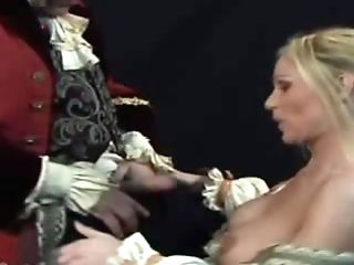 Hot Retro Fuck Act! Sweet Blonde Stunner Is Deepthroating Lengthy Dick And Getting Fucked