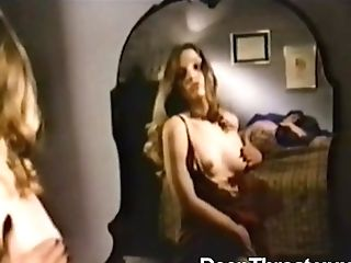 Amazing Scenes From Antique Porno With Two Chicks Sharing A Dick And Hard Fucking Act