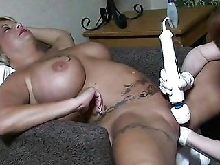 Buxom Retro Cougar Gets Her Beaver Fisted And Fucked With Antique Fuck-a-thon Playthings