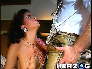 Dark-haired Beauty And A Boy Masturbating While Another Chick Prostate Play Out A Dude With Moustaches