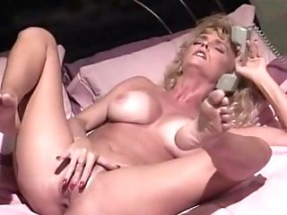 Matures Blonde Tramp With Big Milk Cans Thumbs Herself Till Orgasm