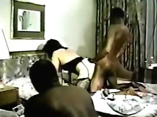 Best Homemade Stockings, Interracial Pornography Scene
