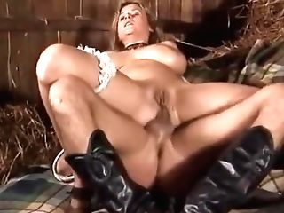 Farmer Doll Fuck Two Guys