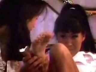 Asia Carrera Gets Feet Adored