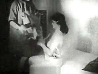Rough Intrusion During A Debate (1940s Antique)
