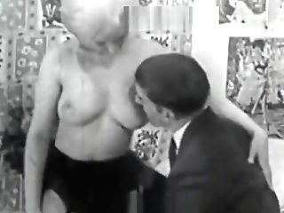 Masturbating And Getting Fucked Tonight (1950s Antique)